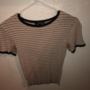 sleeve tee (striped)